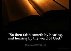 Hear the Gospel: Romans 10:17